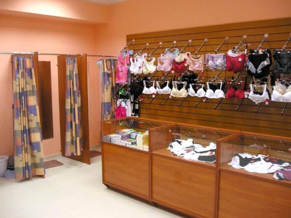 магазин женского белья мебель